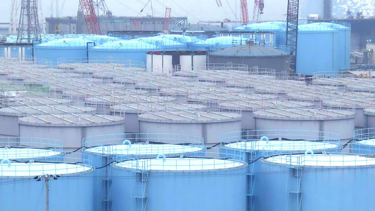 Il Giappone ha deciso di rilasciare in mare l'acqua contaminata acqua contaminatadella centrale nucleare di Fukushima