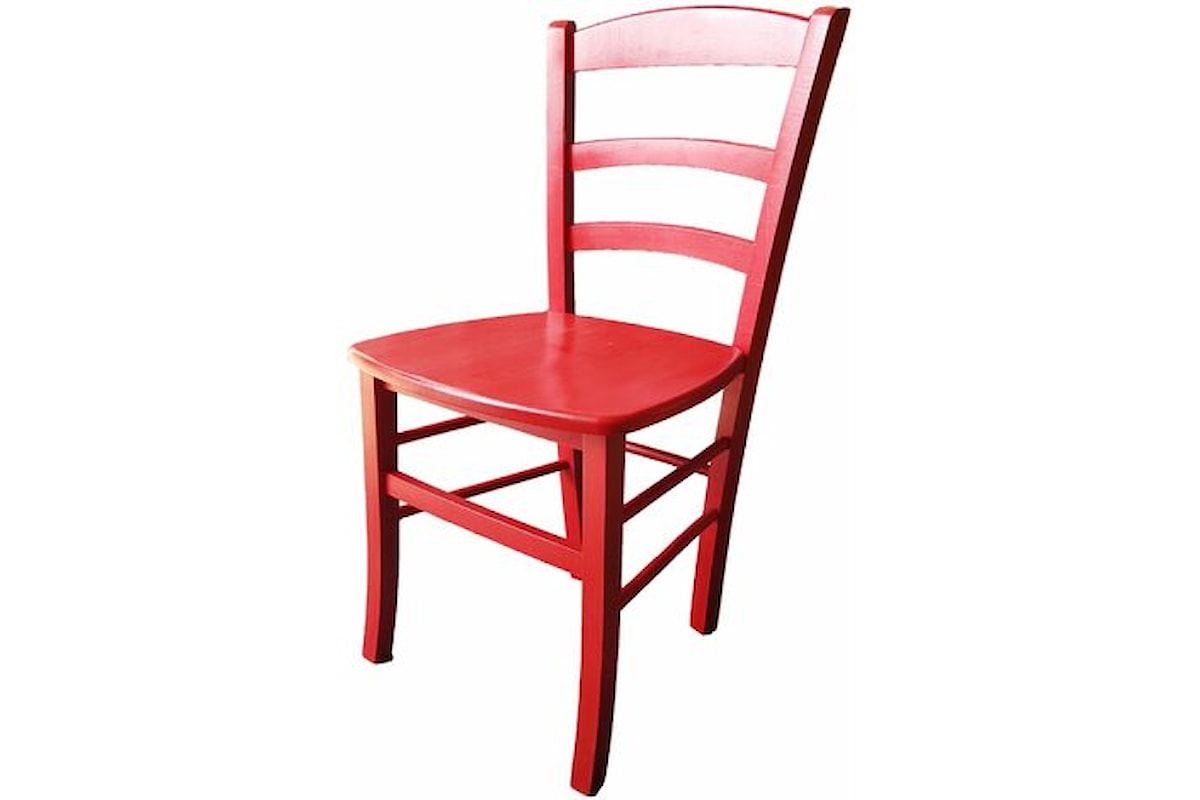 La sedia rossa IV