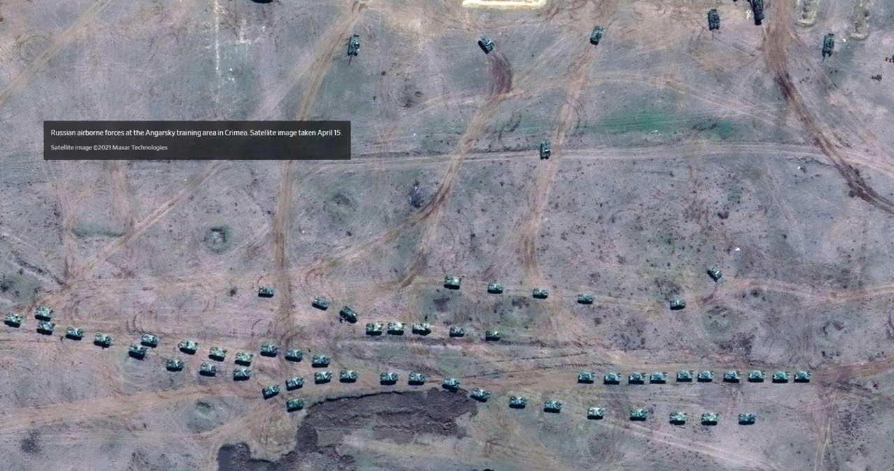 A breve la Russia avrà ammassato ai confini dell'Ucraina più di 120mila soldati