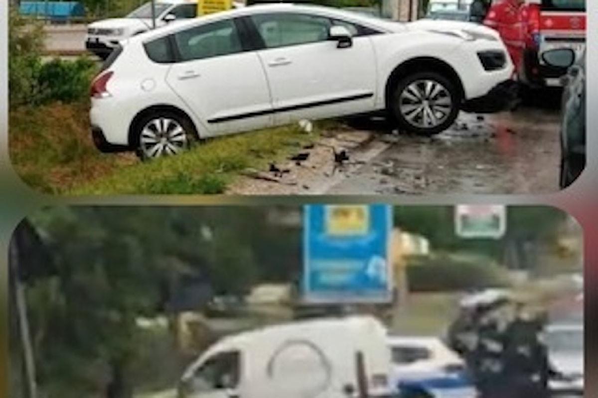 Rocambolesco incidente a Cepagatti