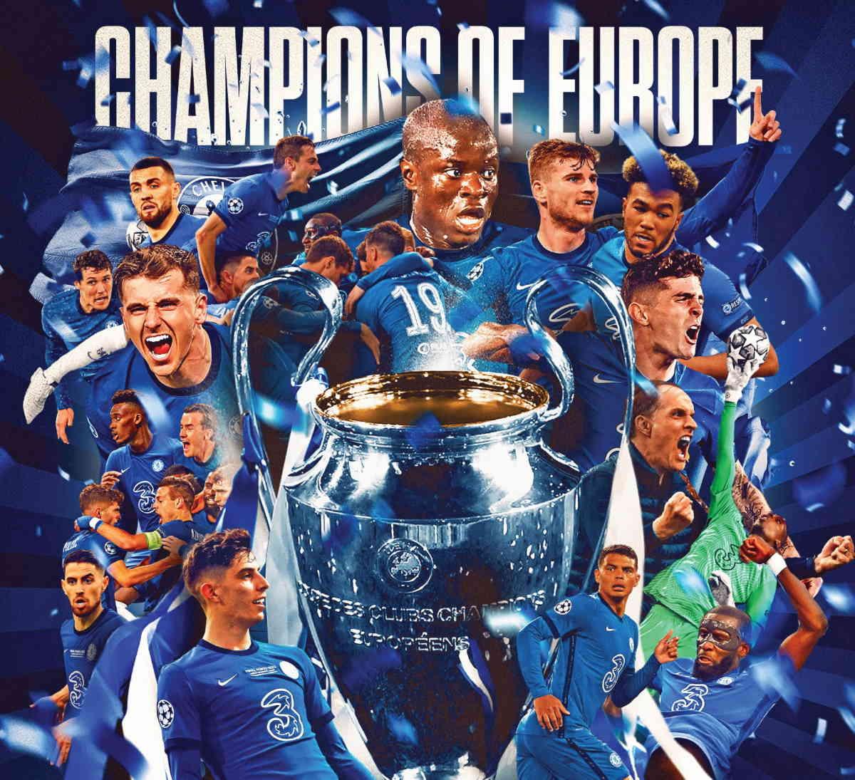 Il Chelsea si aggiudica la Champions League 2020/21 battendo il Manchester City per 1-0