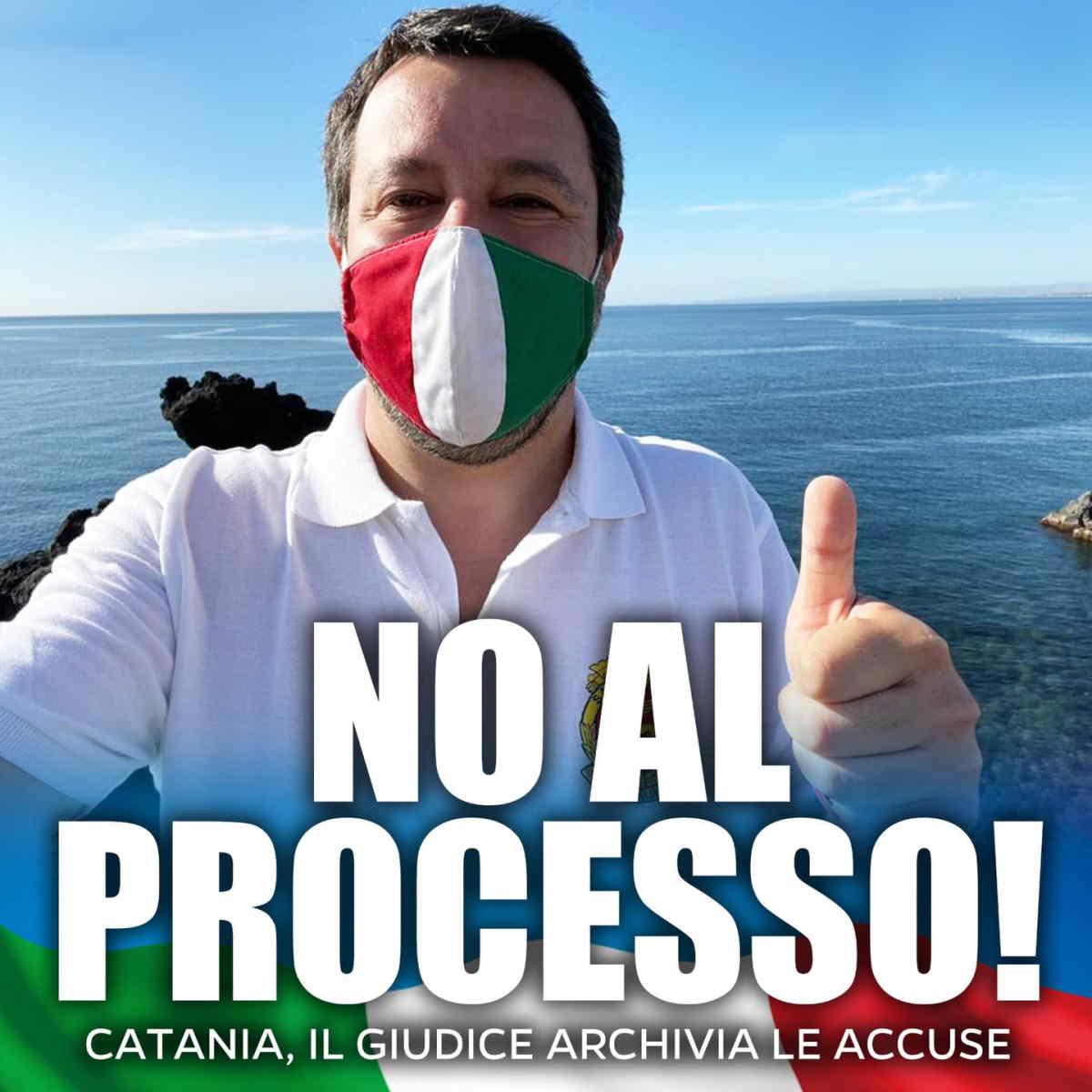 Il GUP di Catania proscioglie Matteo Salvini per la vicenda Gregoretti: il fatto non sussiste