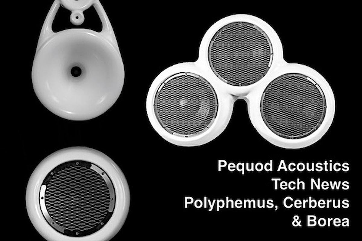 Pequod Acoustic, sono Polyphemus, Cerberus e Borea le 3 importanti novità