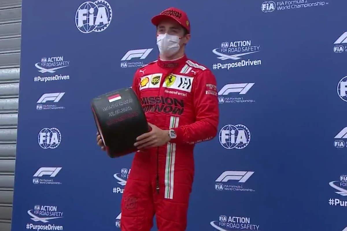 Formula 1, la Ferrari di Leclerc conquista la pole del GP di Monaco