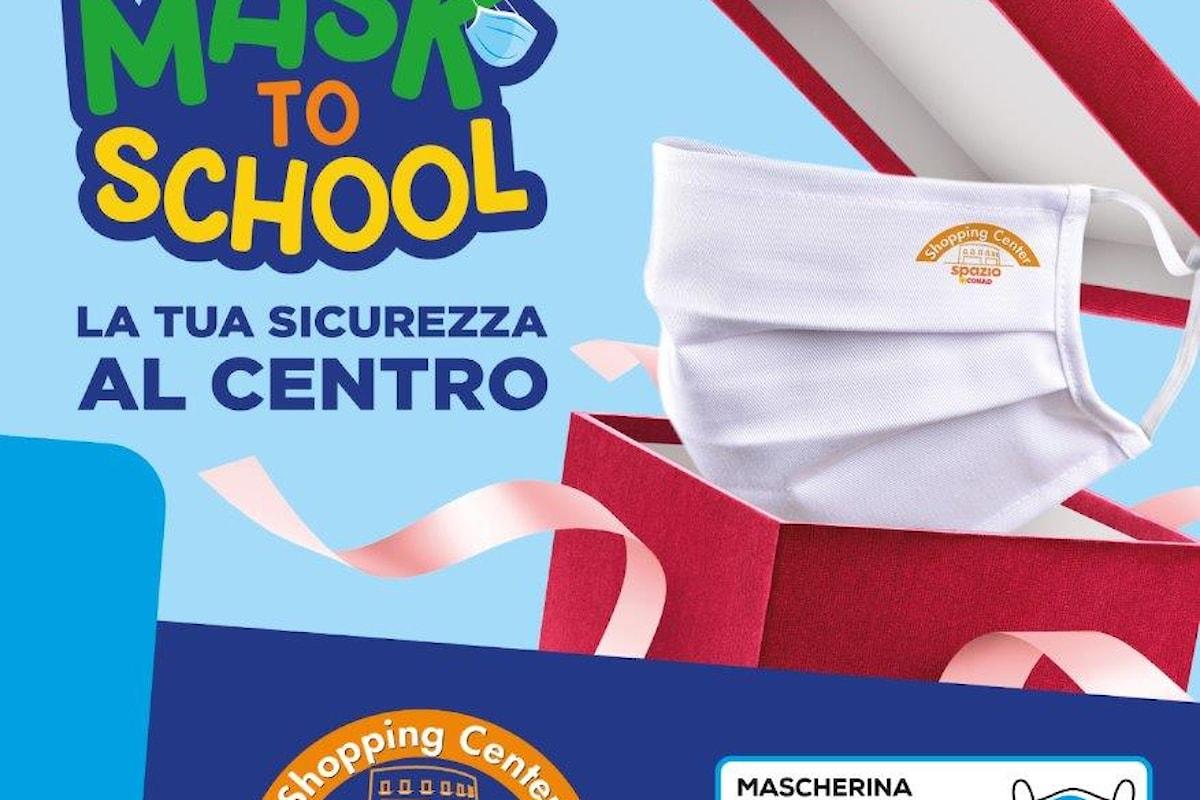 """San Severo: Il Centro Commerciale Conad Shopping Center presenta """"MASK TO SCHOOL"""""""
