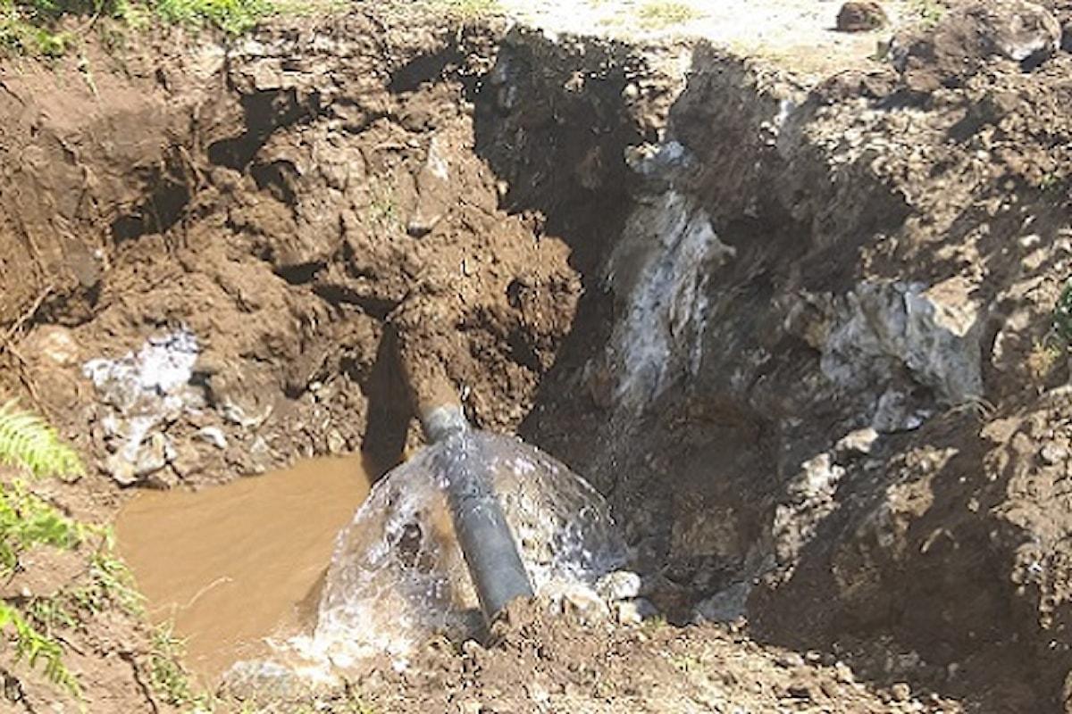 Milazzo (ME) - Individuato il guasto alla tubazione della sorgente Mele