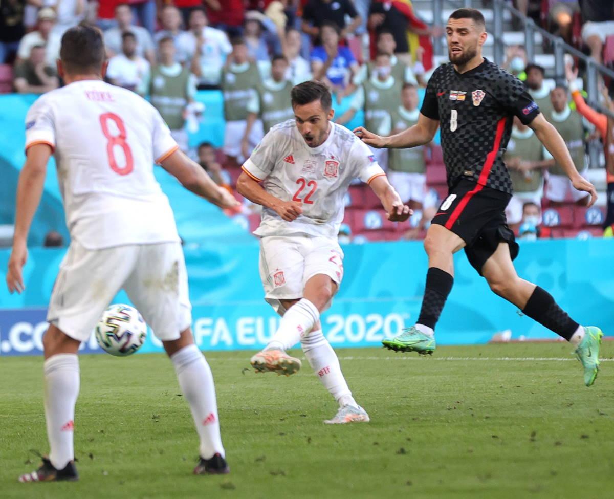 Euro 2020, la Spagna va ai quarti battendo la Croazia per 5-3