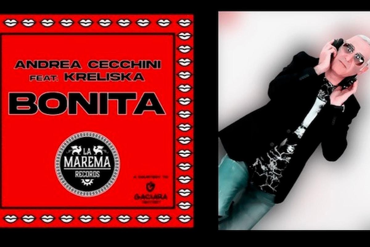 Andrea Cecchini feat. Kreliska, Bonita (La Marema Records) esce l'11 giugno 2021