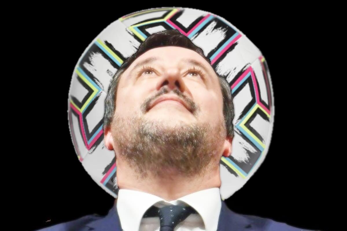 Adesso Salvini esulta per l'Italia dimenticando quando alcuni anni fa...