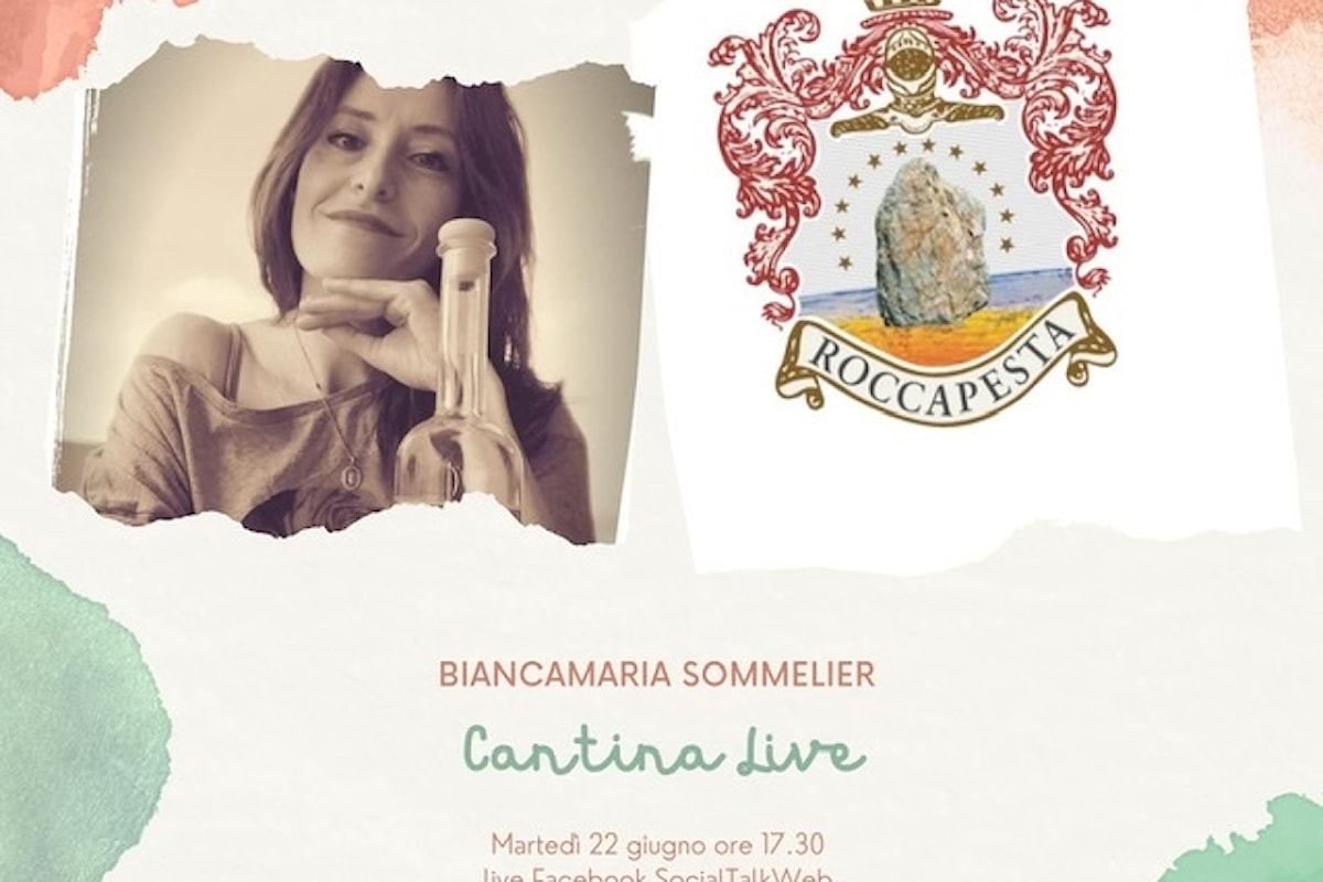 Cantina Live con Biancamaria Sommelier