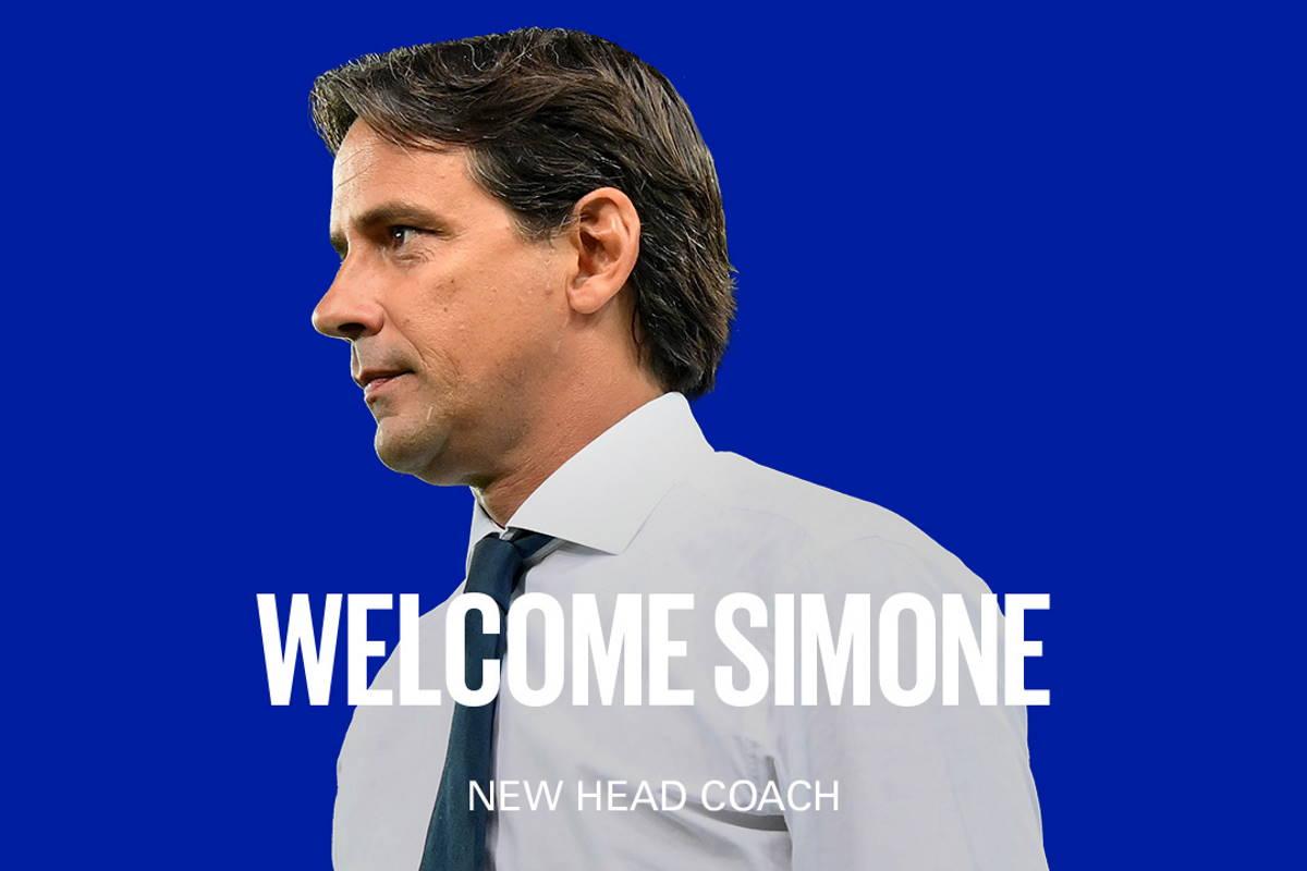 Simone Inzaghi è ufficialmente il nuovo allenatore dell'Inter fino al 2023