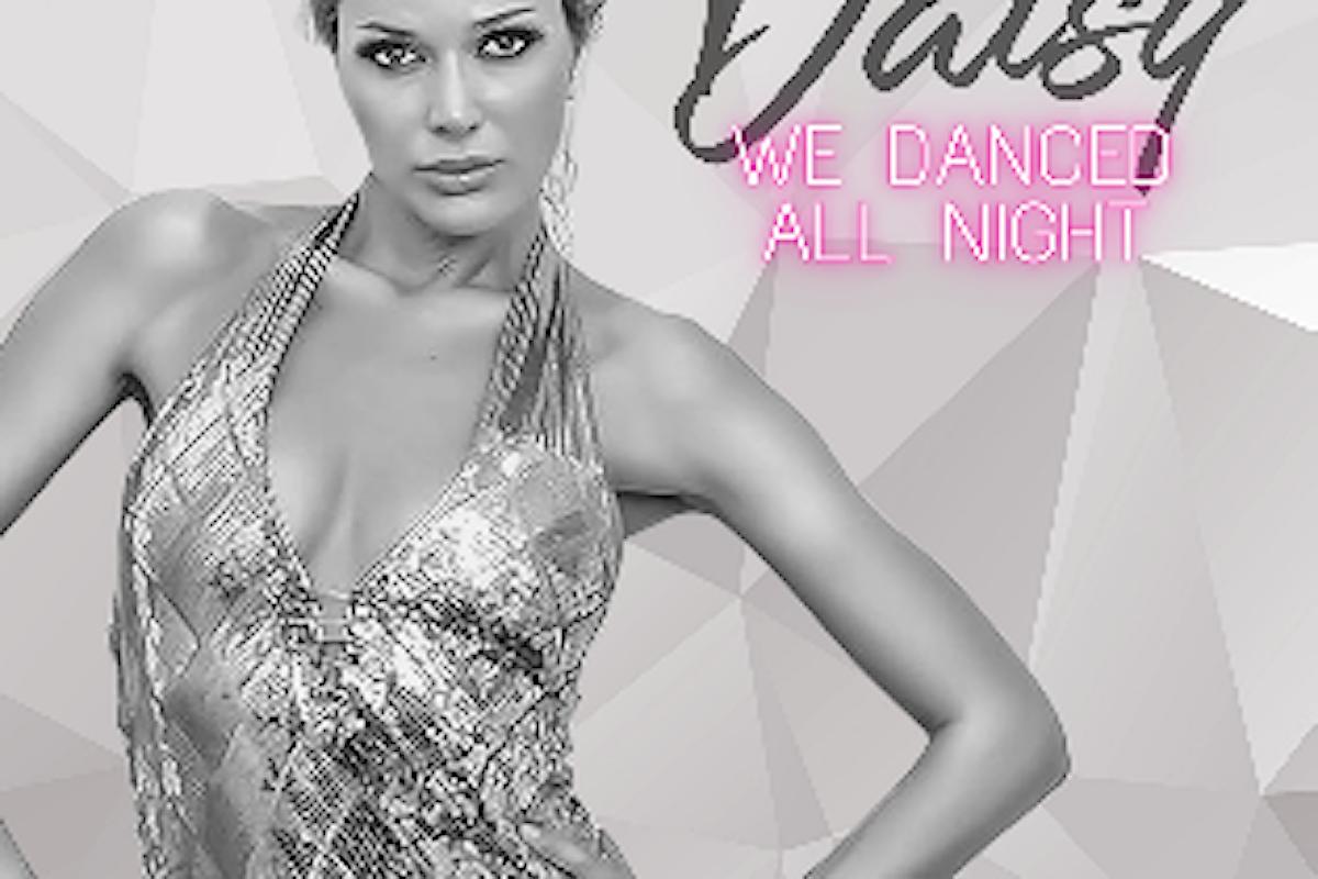In Italia per la prima volta la showgirl DAISY con il nuovo singolo We danced all night