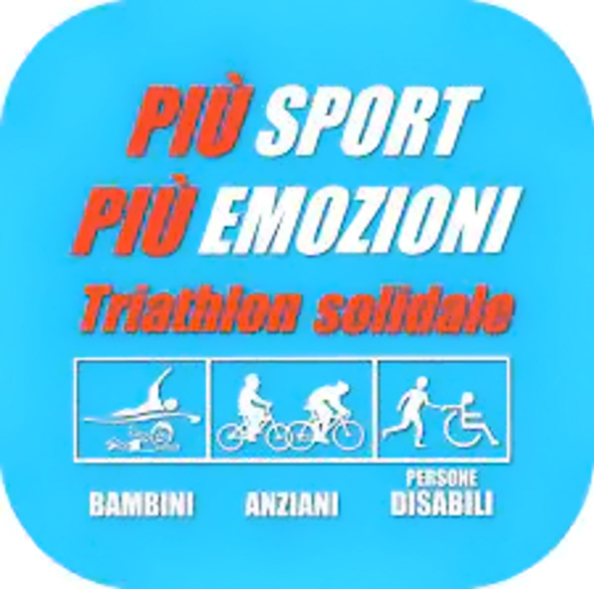 Il triathlon solidale a Metaponto con gli Amici del Cuore di Matera