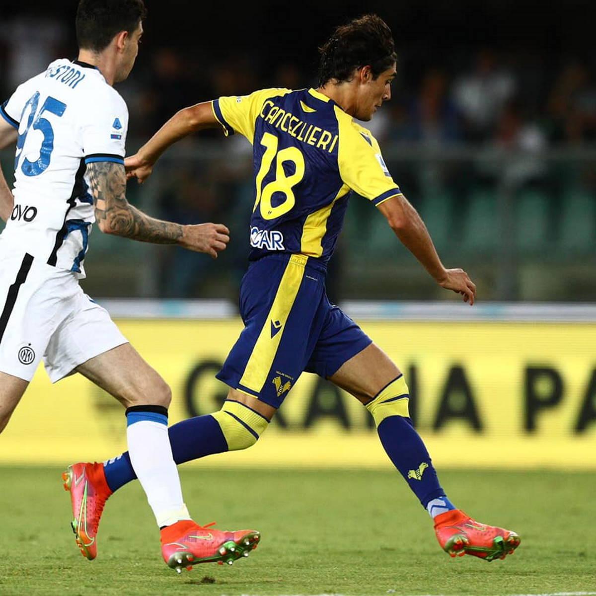 Il Verona si illude ma l'Inter esce dal Bentegodi a punteggio pieno sconfiggendo 3-1 gli scaligeri