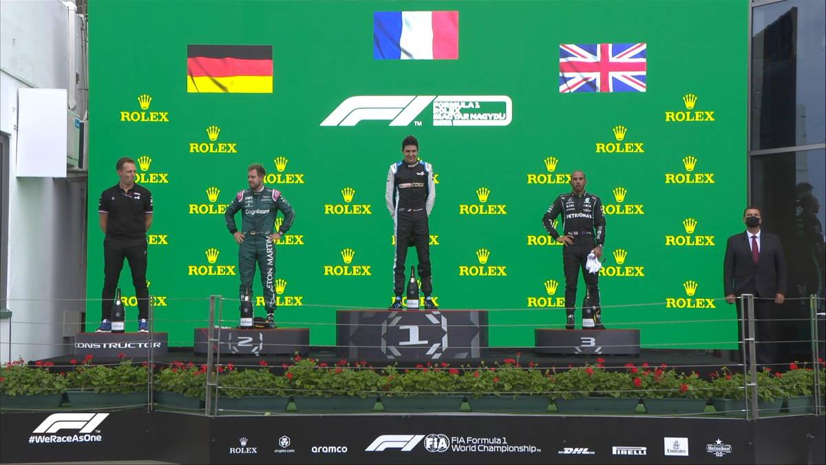 Formula 1, in Ungheria vince a sorpresa Ocon su Alpine