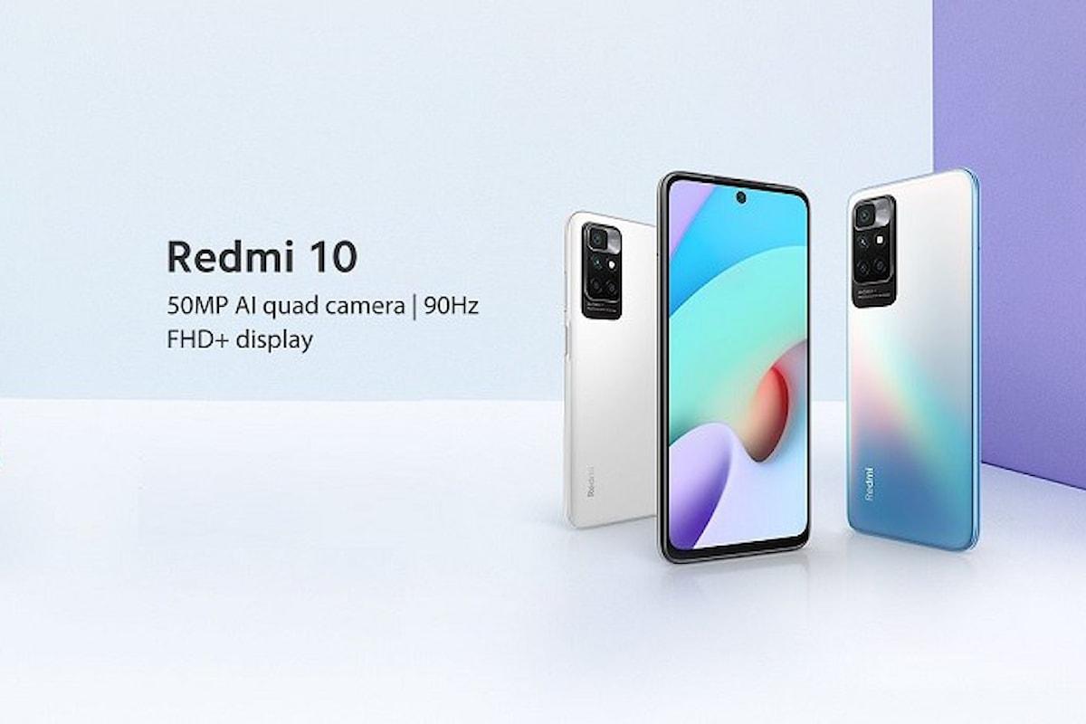 Redmi 10 già disponibile in offerta: lo smartphone di fascia bassa che si sente un top di gamma