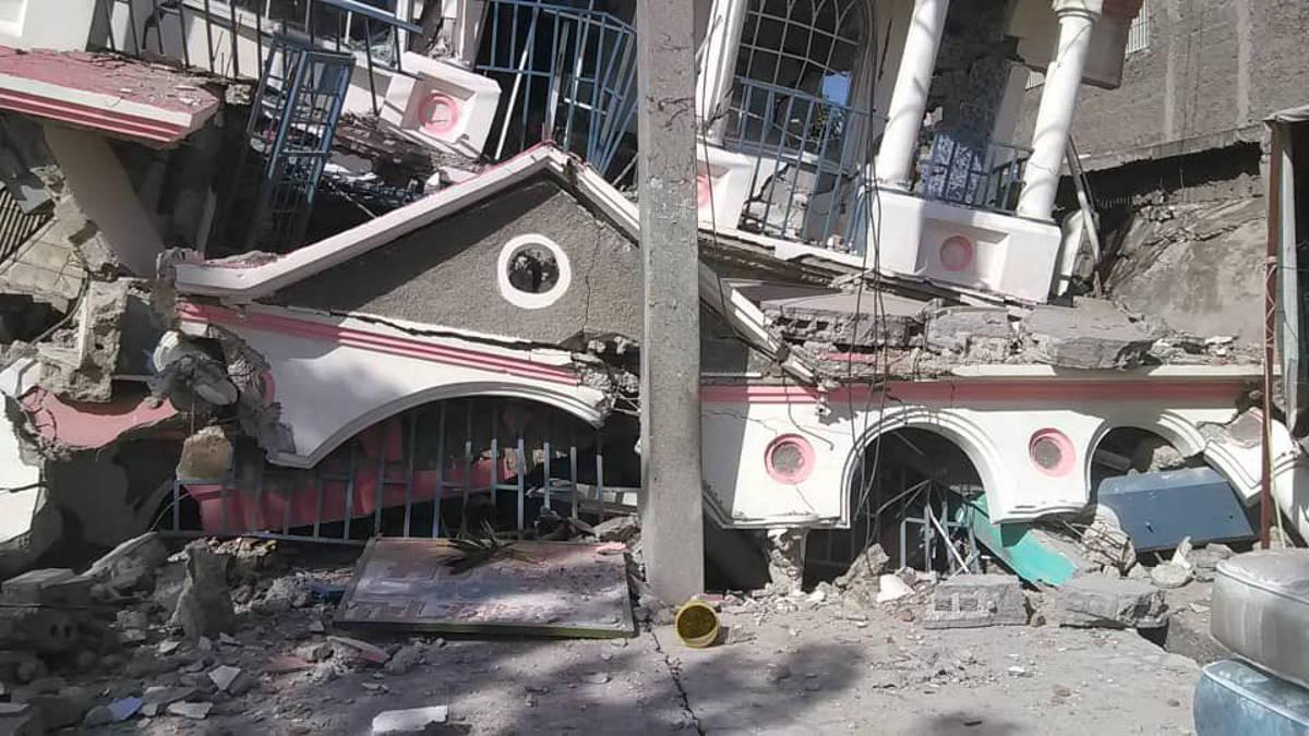 Haiti: è salito a 1297 il numero delle vittime del forte terremoto che sabato scorso ha colpito il sud dell'isola