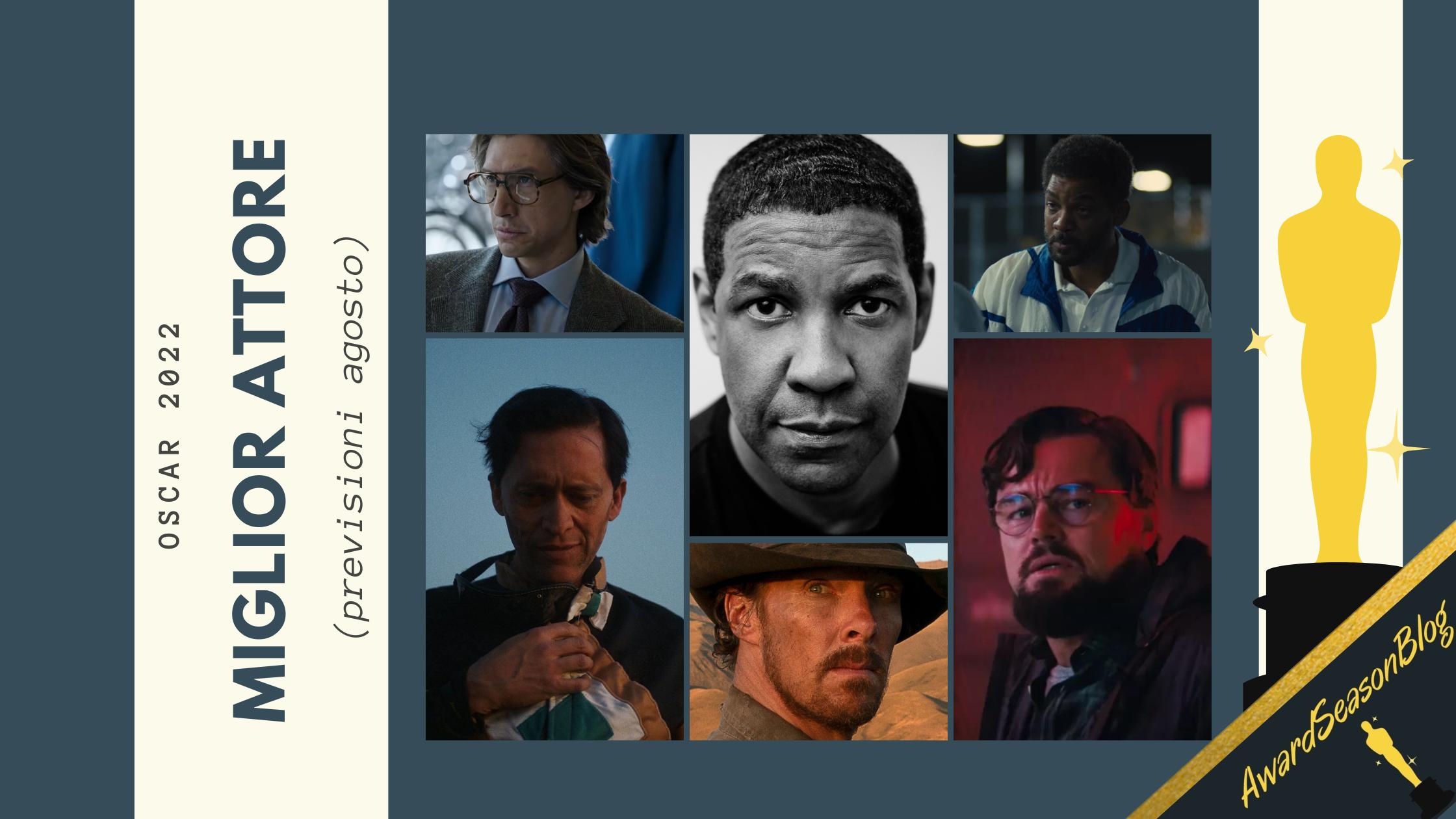 Oscar 2022: quali sono le migliori interpretazioni maschili da tenere d'occhio? (previsioni agosto)