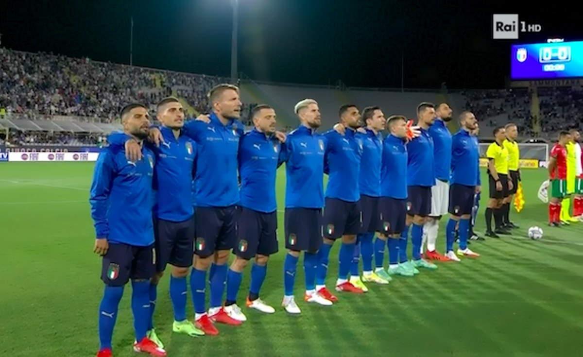 Qualificazioni Qatar 2022, a Firenze l'Italia pareggia 1-1 contro la Bulgaria