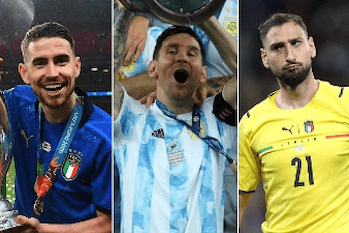 Messi, Jorginho e Donnarumma si contendono il Pallone d'Oro 2021