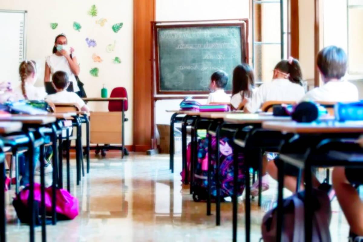 Circa il 10% del personale scolastico non si è ancora vaccinato
