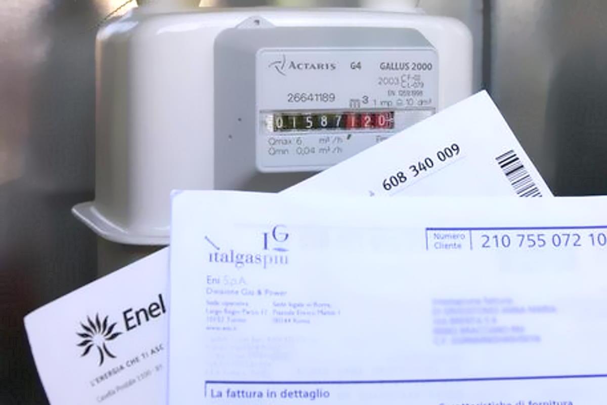 Dal primo ottobre per evitare stangata luce e gas previsto un intervento del governo da almeno 3 miliardi e mezzo