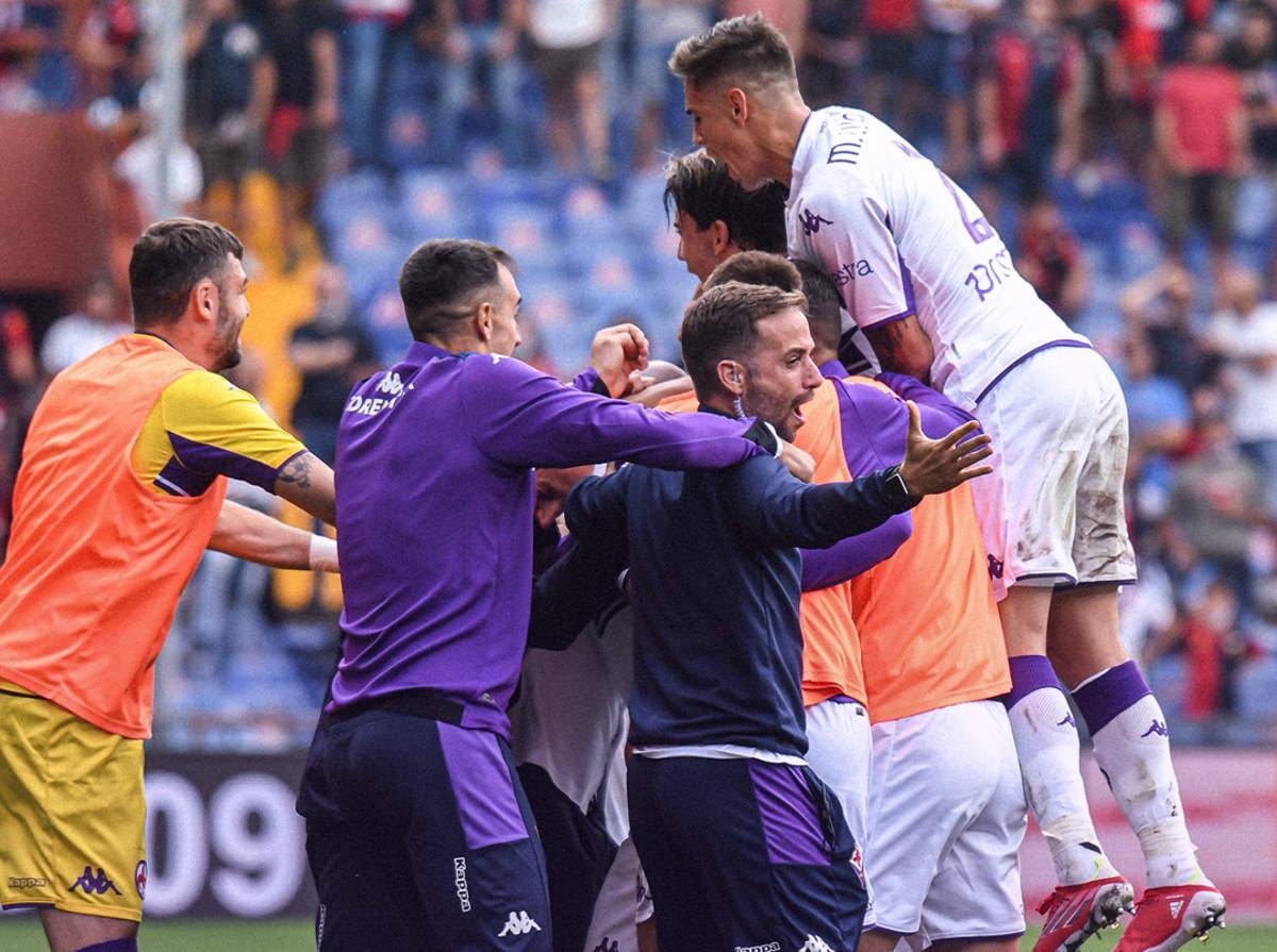 La Fiorentina espugna Marassi battendo 2-1 il Genoa