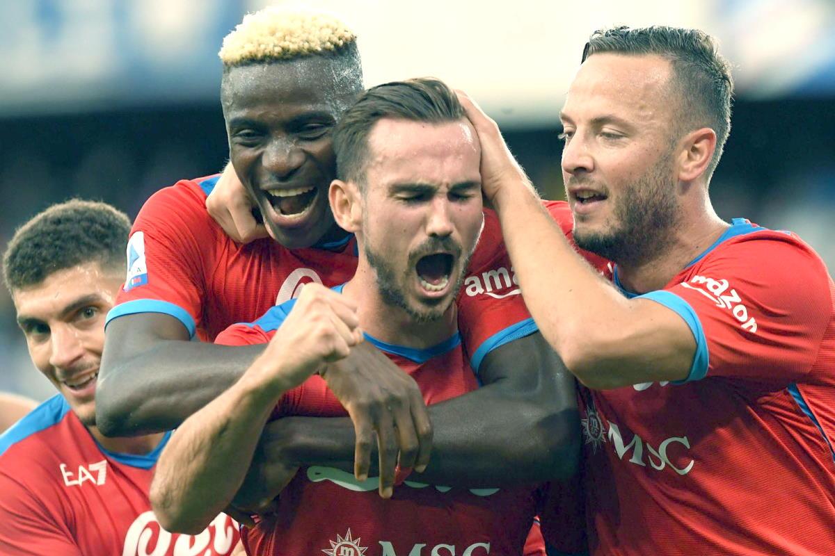 Serie A, dopo la quinta giornata il Napoli è in vetta alla classifica a punteggio pieno