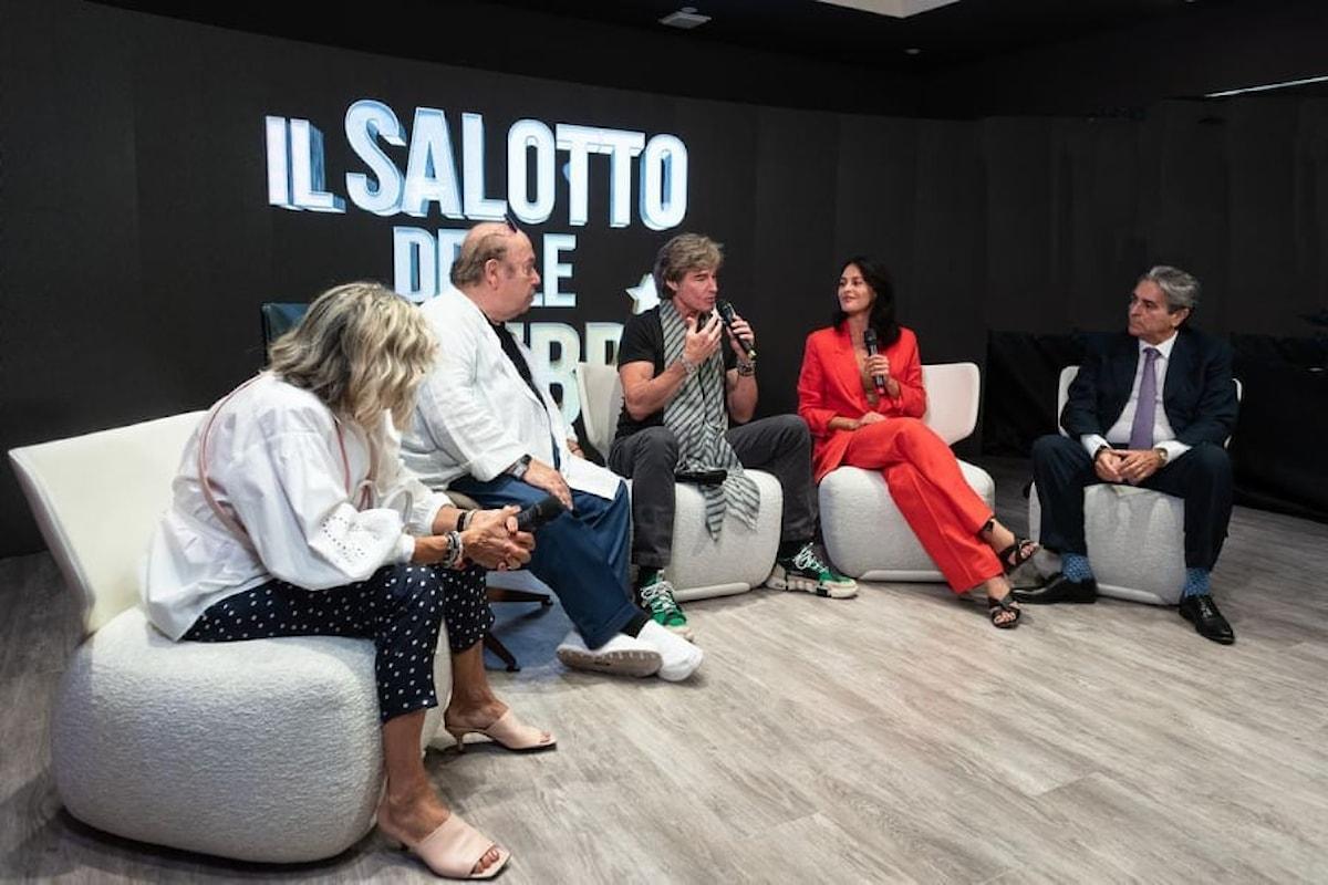 """Il Salotto delle Celebrità: la nuova hospitality che """"coccola"""" i Vip e promuove le eccellenze imprenditoriali e artigiane durante il Festival del Cinema di Venezia"""