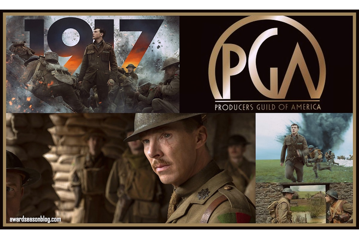 1917 vince ai Producers Guild of America Awards diventando il favorito agli Oscars 2020