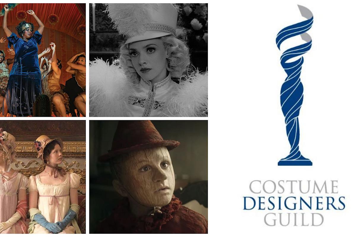 Costume Designers Guild Awards 2021: tra i nominati per i migliori costumi dell'anno c'è Pinocchio