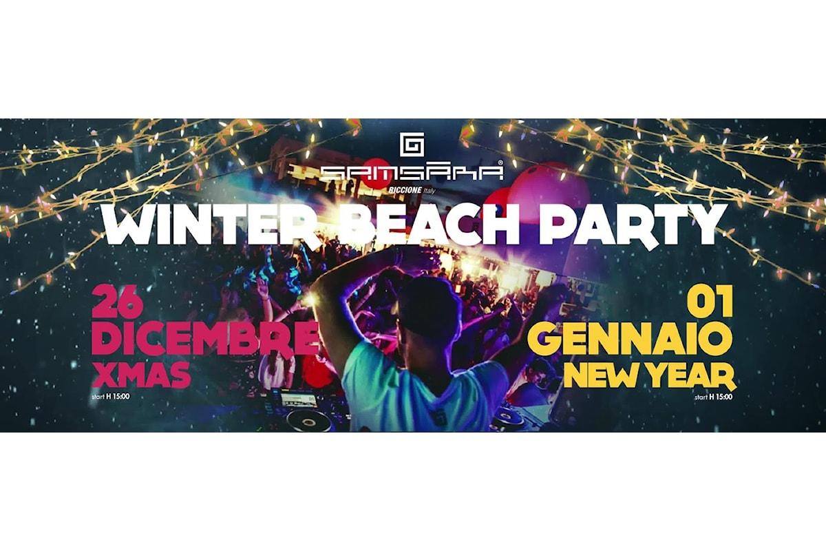 Samsara Beach - Riccione: Winter Beach Party il 26 dicembre 2017 e l'1 gennaio 2018