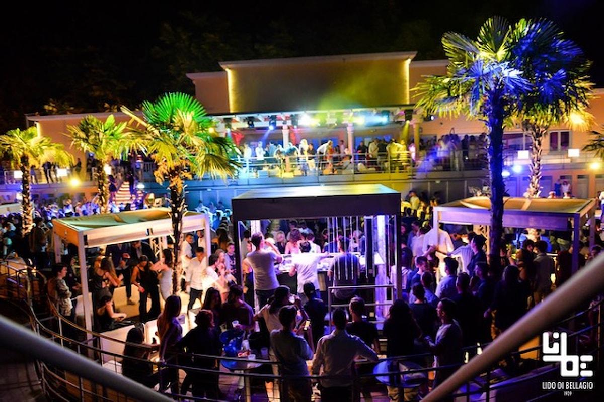 Lido di Bellagio (CO): 16/6 Incredible Party Boat, 17/6 White Party