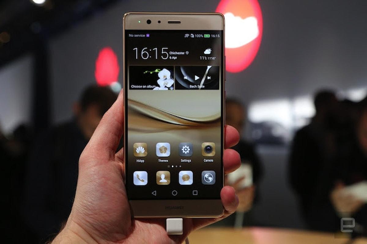 Huawei P9 disponibile all'acquisto in Italia. Il prezzo?