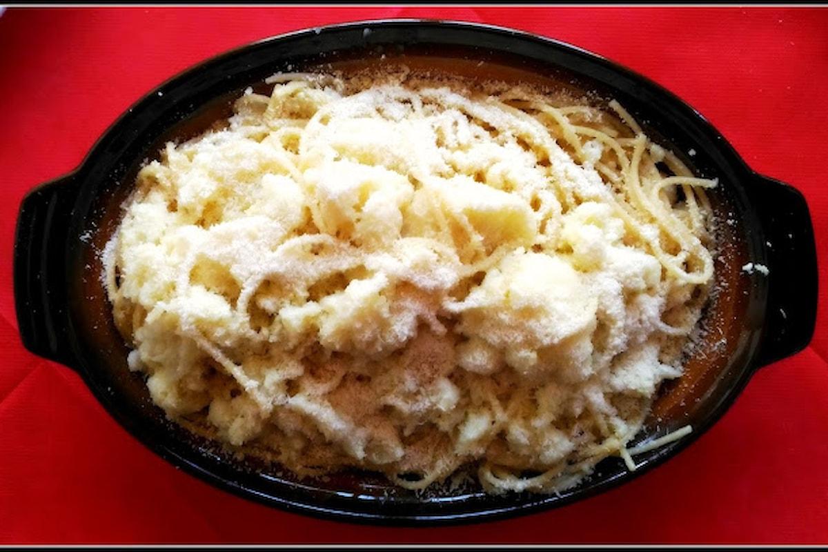 Ricette sarde: spaghetti Arrellia con cavolfiore