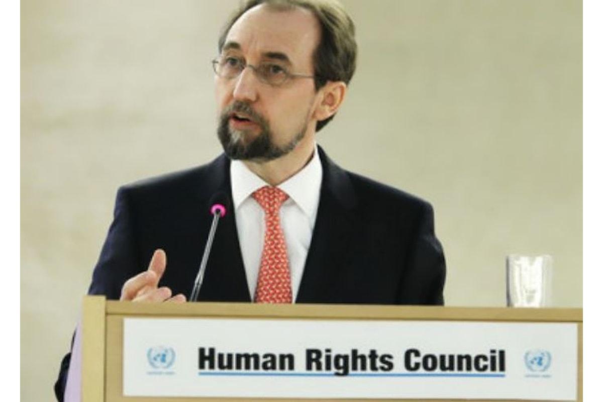 Ohchr: via libera ad una commissione d'inchiesta sulla strage compiuta dagli israeliani a Gaza