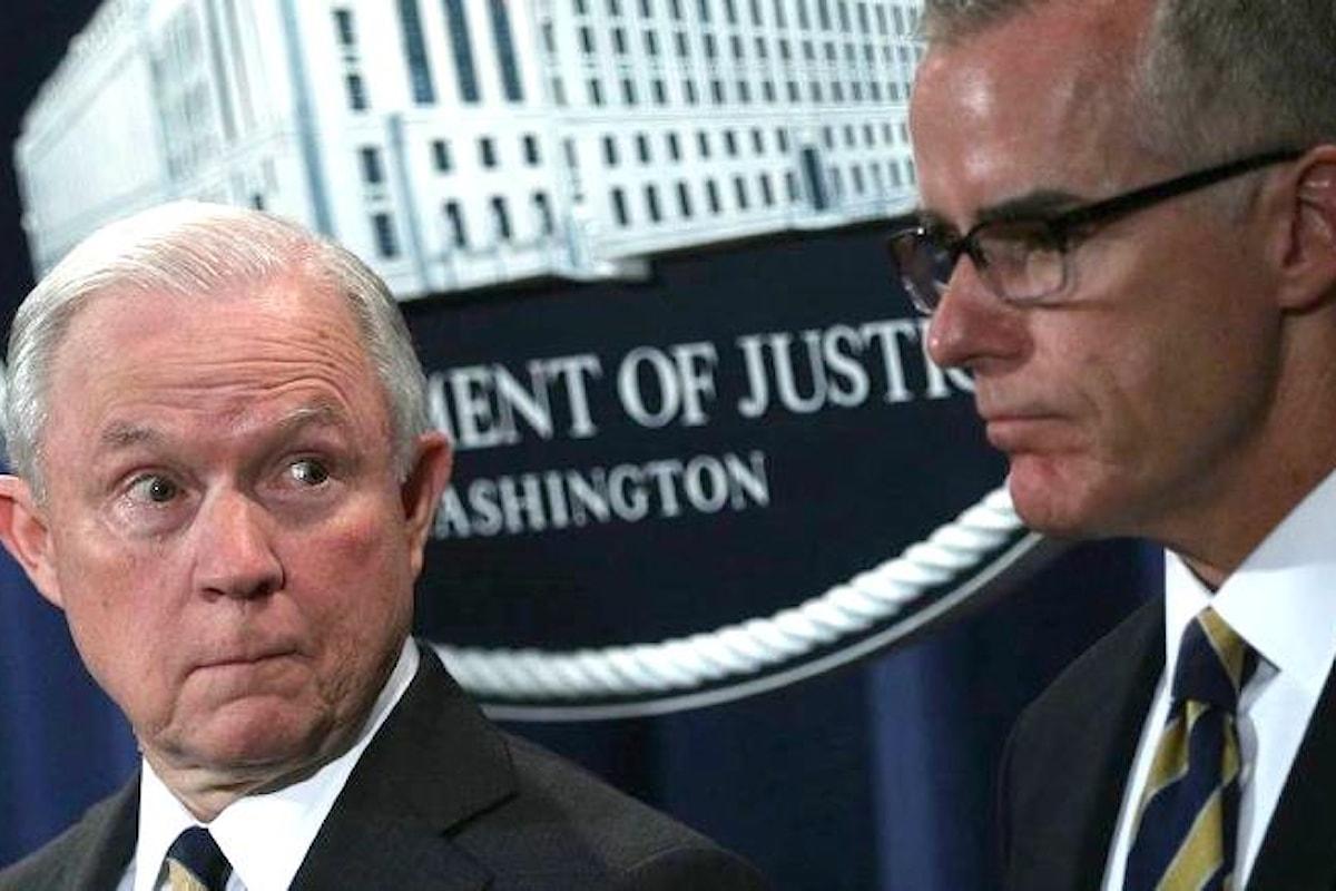 Trump si vendica per l'inchiesta Russiagate facendo licenziare Andrew McCabe