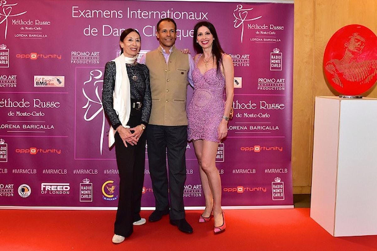 Danza, arte, cultura e moda si incontrano a Monaco per l'annuale evento degli esami internazionali della Methode Russe de Monte-Carlo de Lorena Baricalla