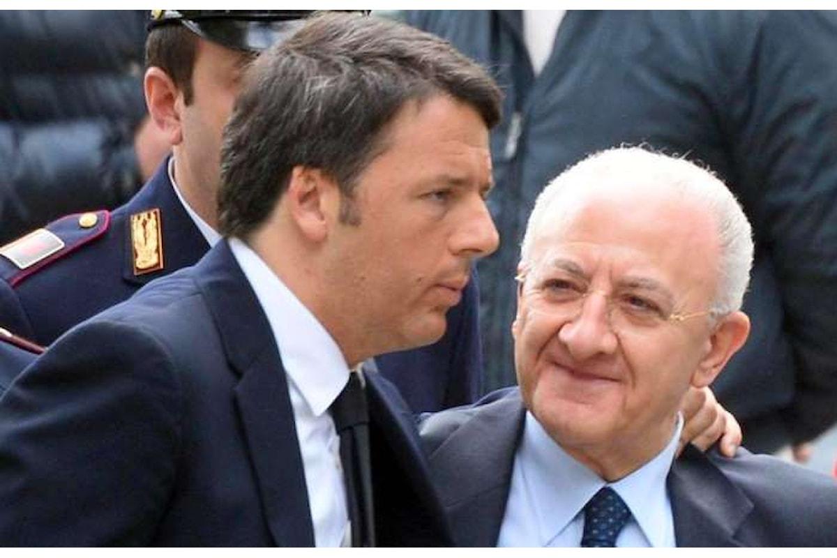 Per far vincere il Sì, Matteo Renzi si affida anche al voto di scambio. Lo confessa Vincenzo De Luca
