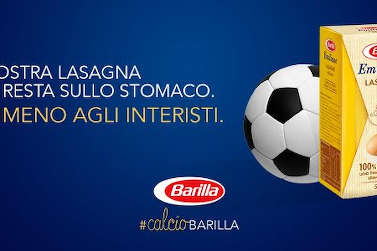 Lasagna indigesta per l'Inter. Dopo il Carpi ci si mette pure la Barilla