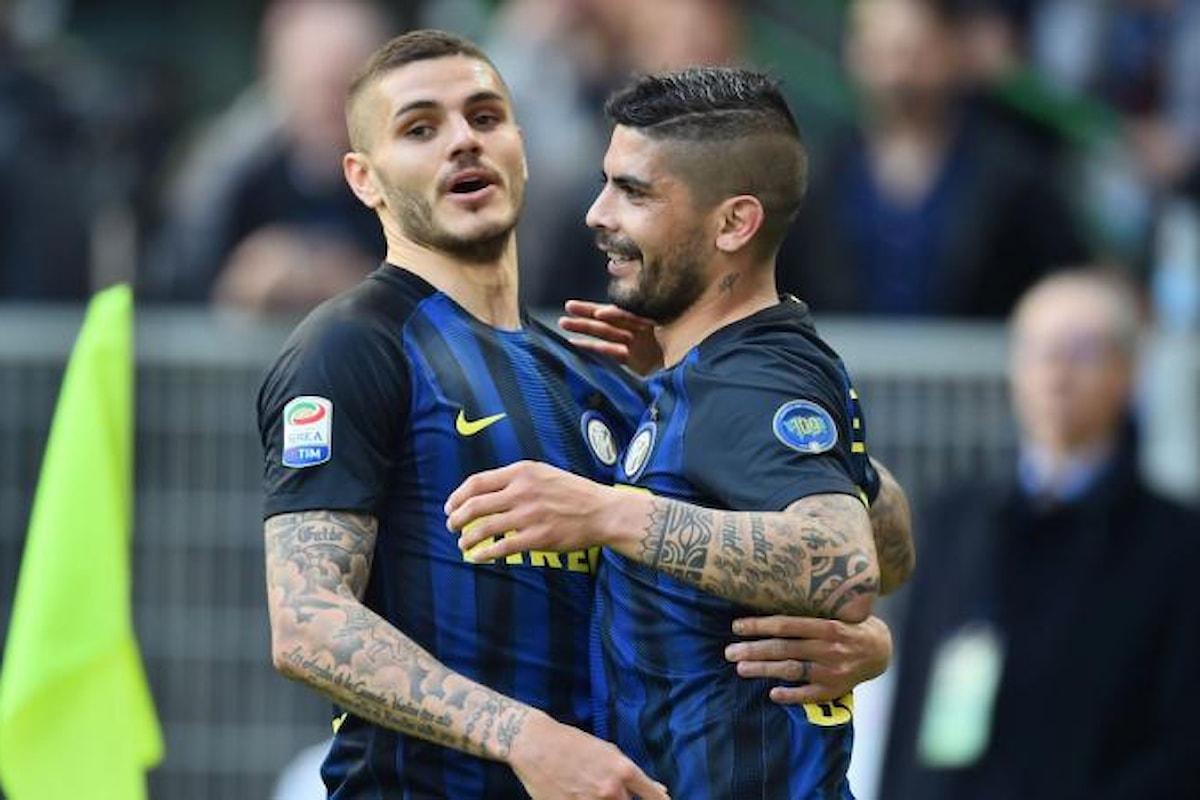 Ecco i 7 gol dell'Inter contro l'Atalanta!