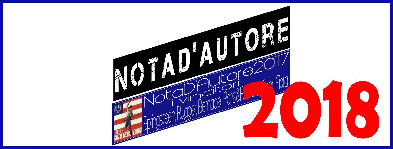 Premio Letterario 'NotaD'Autore2018'