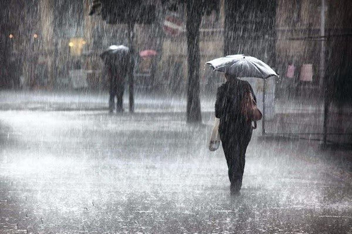Allerta meteo Campania 14 giugno: pioggia e vento forte
