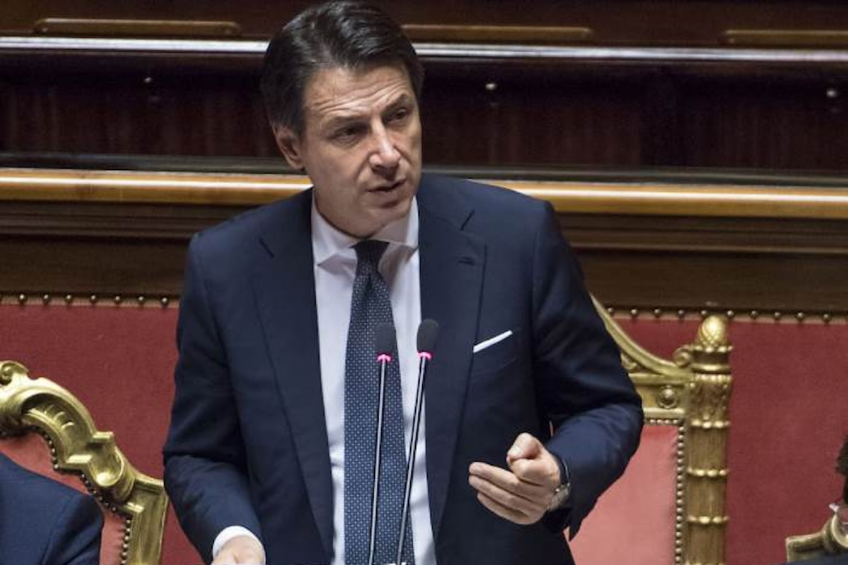 Conte al Senato: l'Italia non è più disponibile ad accogliere indiscriminatamente i migranti