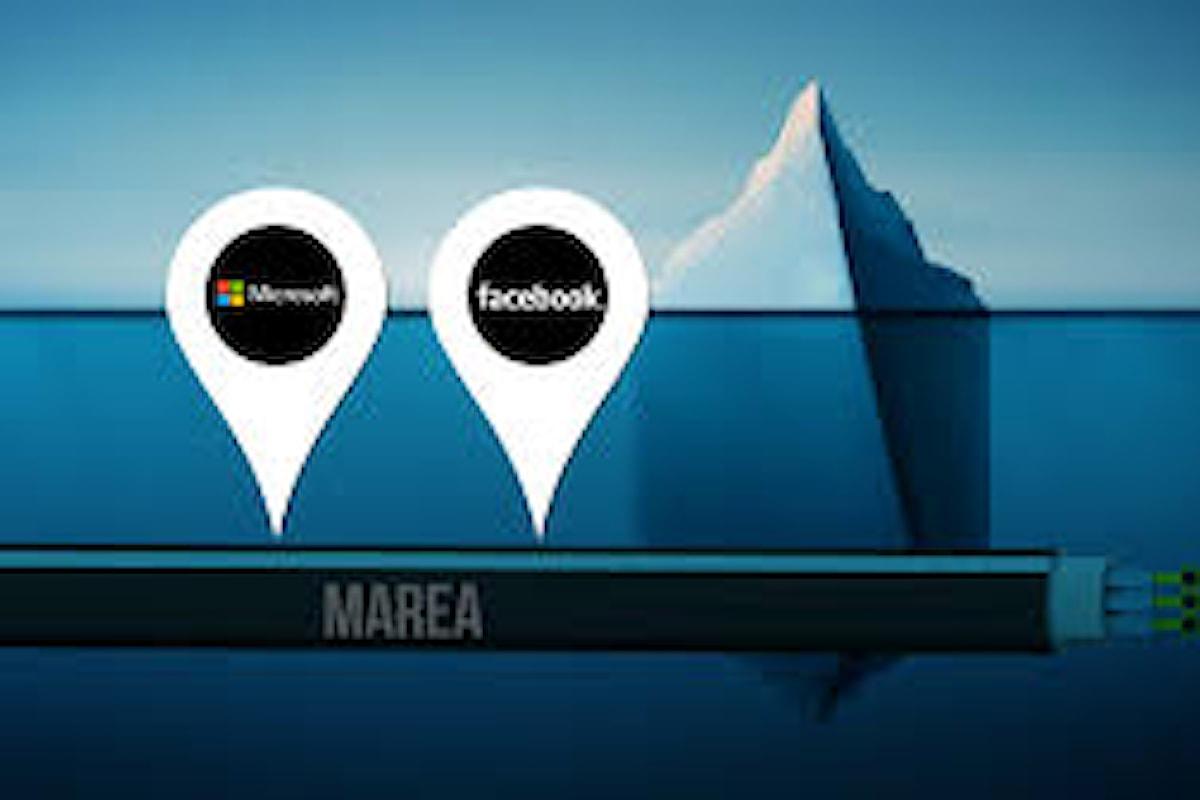 Facebook e Microsoft insieme per la stesura di un cavo sottomarino fra Stati Uniti ed Europa