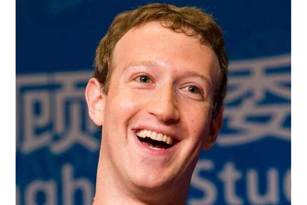 Zuckerberg promette che in futuro proteggerà meglio il suo monopolio di dati