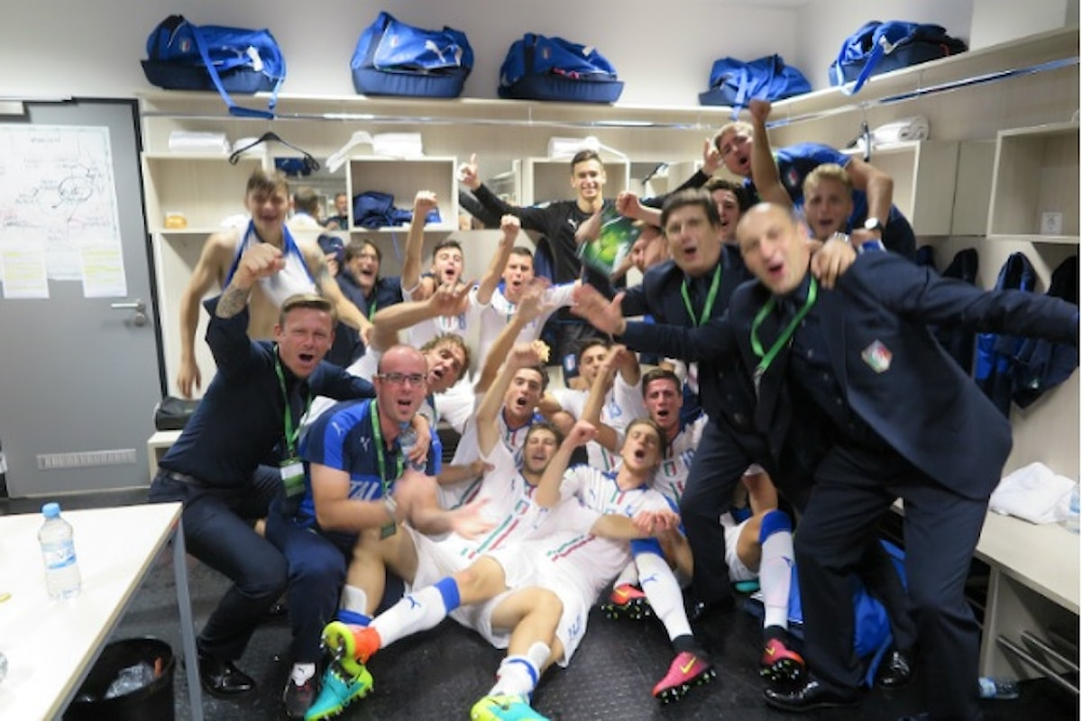 L'Italia Under 19 conquista la semifinale dell'Europeo di categoria