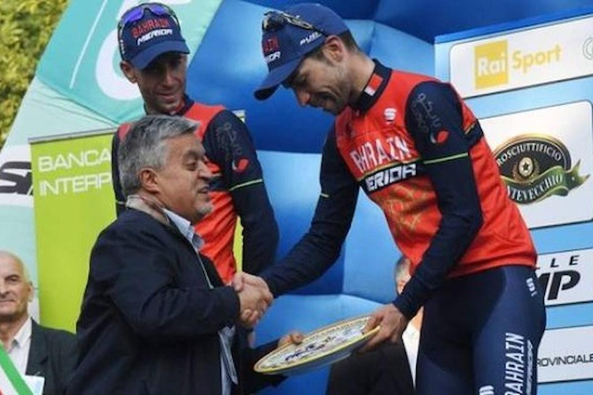 Un centesimo Giro dell'Emilia trionfaleper l'Italia: sul podio la doppietta Visconti - Nibali
