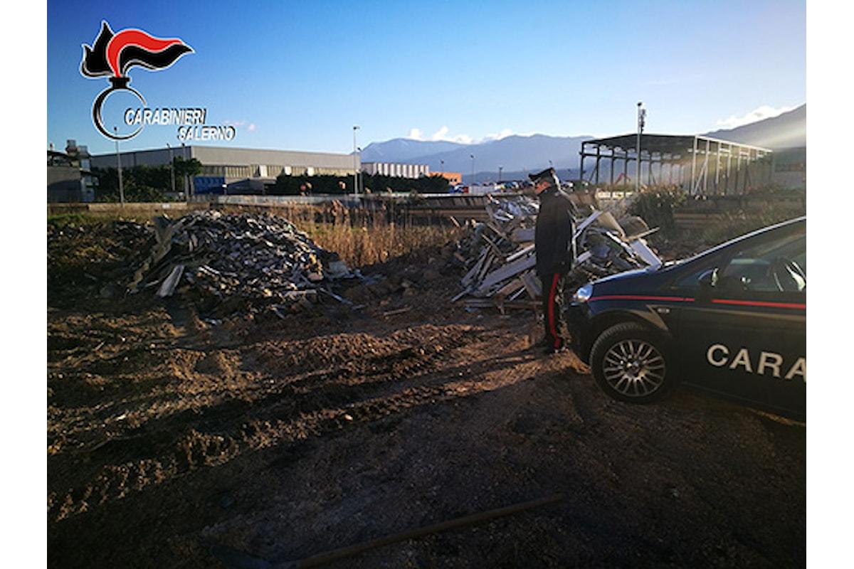 Interrano rifiuti speciali, nei guai tre persone nel Vallo di Diano