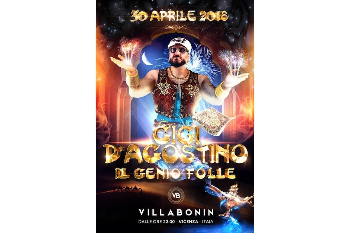Villa Bonin fa ballare Vicenza con Cuore Matto/Salvacion (24/04), Besame (20/04), Gigi D'Agostino (30/04), Bob Sinclar (1/6)
